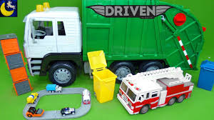 Driven By Battat Recycling Truck Mini Pocket Series 1 Surprise Cars ...