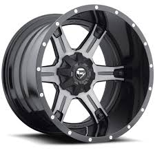 D257 - Driller Black & Machined, Dark Tint Clear - Fuel Off-Road ...