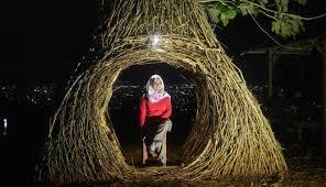 Hutan Pinus Pengger Wisata Malam Yang Hits Di Yogyakarta VIVA