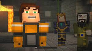 Spongebob That Sinking Feeling Top Sky by Minecraft Story Mode Sky Island 21 Youtube Youtube