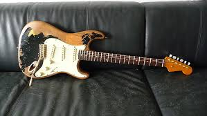 Stratocaster McLoughlin John Mayer Black One