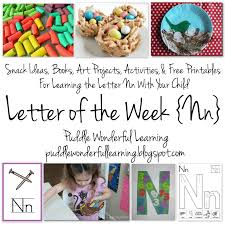 Preschool Activities Letter Of The Week