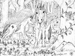 Gallery Of The Last Unicorn Coloring Pages