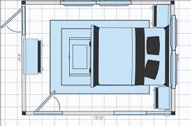 8x10 Bedroom Layout 9x12