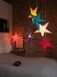 türkis mit kabel weihnachtsstern le leuchte papier deko papierstern neu ebay