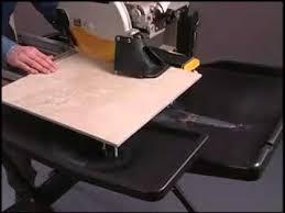 Dewalt Tile Cutter D24000 by Fixit Tv Presents Dewalt D24000 Table Wet Tile Saw Youtube