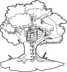 Magic Tree House Coloring Pages Free Google Twit Pertaining To The Brilliant As Well Beautiful