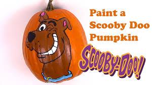 Scooby Doo Pumpkin Stencil by Scooby Doo Painted Pumpkin How To Face Paint Scooby Doo Painted