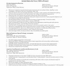 Military Experience On Resume Example Latest Examples To Civilian