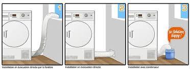 guide sèche linge installation et accessoires