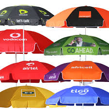 Ooredoo Telecom Promotional Parasol Umbrella Beach
