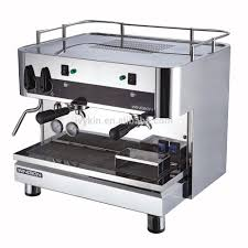 Factory Italian Commercial Coffee Machine Two Parts Good Name Brand