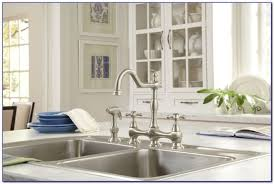 danze opulence bridge kitchen faucet faucets home design ideas