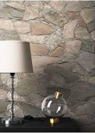 newroom vliestapete steintapete tapete braun steinoptik