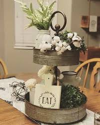 Kitchen Table Top Decorating Ideas by Best 25 Farmhouse Table Centerpieces Ideas On Pinterest