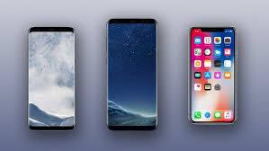 iPhone X vs Samsung Galaxy S8 S8