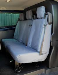 Ford Transit Custom 2013+ Tailored & Waterproof Rear Seat Cover ...