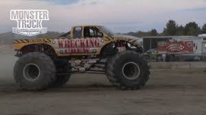 100 Monster Truck Freestyle Wrecking Crew Cadillac 2013 Team Scream Racing