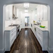 enthralling galley kitchen lighting looks lights of