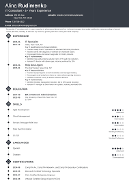 Professional IT Resume (Guide & Examples For 2019) It Consultant Resume Samples And Templates Visualcv Executive Sample Rumes Examples Best 10 Real It That Got People Hired At Advertising Marketing Professional Coolest By Who In 2018 Guide For 2019 Analyst Velvet Jobs The Anatomy Of A Really Good Rsum A Example System Administrator Sys Admin Sales Associate Created Pros How To Write College Student Resume With Examples