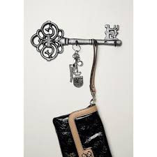 Decorative Wall Mounted Key Holder Vintage With 3 Hooks