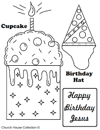 Download Coloring Pages Christmas Sunday School A Free Printable Happy Birthday Jesus