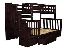 bunk beds twin over full bunk bed with stairs walmart twin over