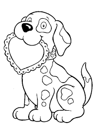 Coloring Pages Valentine Valentines Day