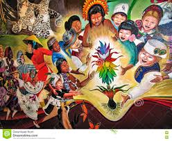 Denver Colorado Airport Murals by Children Of The World Dream Of Peace Editorial Photography Image