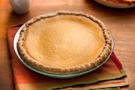 Pumpkin Pie Without Crust And Sugar by Pumpkin Pie With Spiced Crust Recipe Chowhound