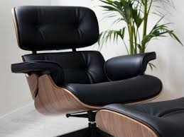 Lounge Chair And Ottoman Eames Reproduction | Lounge Chair And ... White Ash Eames Lounge Chair Ottoman Hivemoderncom Replica Ivory And Herman Miller Chicicat Collector And Black 100 Leather High Quality Base Prinplfafreesociety Husband Wife Team Combine To Create Onic Lounge Chair The Interiors Chairs