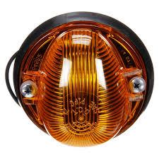 100 Truck Lite SignalStat Incandescent Amber Triangular 1 Bulb Marker