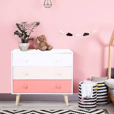 kommode für kinder farbe rosa