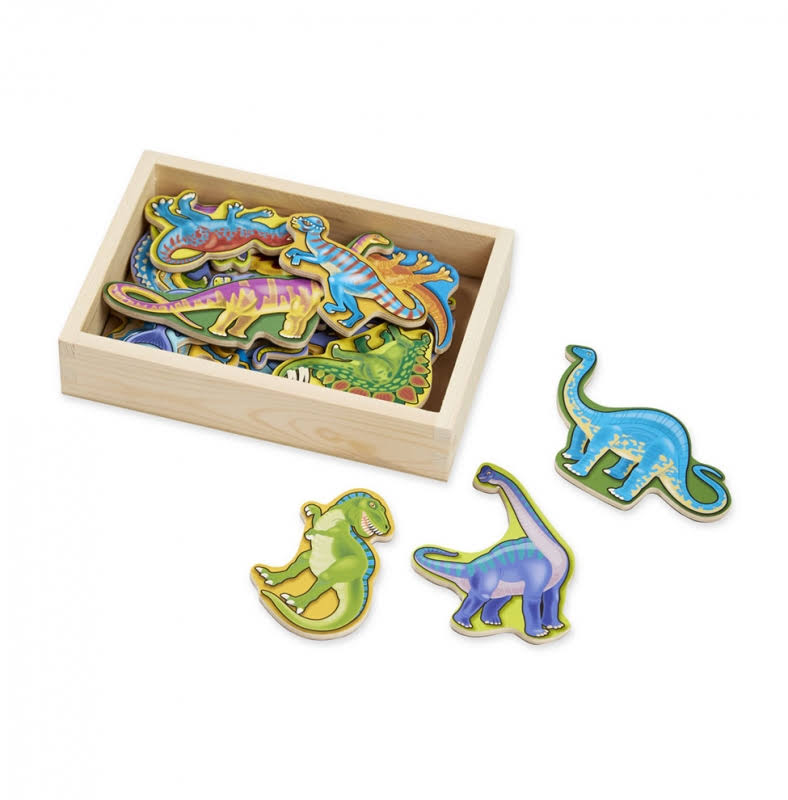 Melissa & Doug - Wooden Dinosaur Magnets