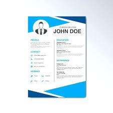 Resume Template Free Design Templates Curriculum Vitae Download Cv Psd Creative Temp