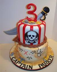 Pirate Birthday Cake doulacindy