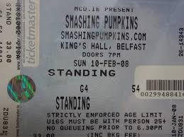 Smashing Pumpkins Bass Concert Hall by A Live Education Past Concert Tickets