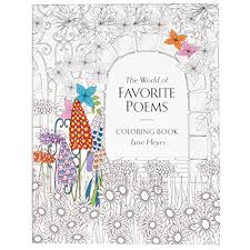 Babalu Adult The World Of Favorite Poems Coloring Book
