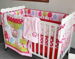 baby bedding set embroidery 3d air balloon rabbit fox owl baby