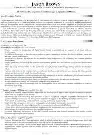 Information Technology Resume Examples 2016 Also It Software Development Project Manager Example To Prepare Perfect