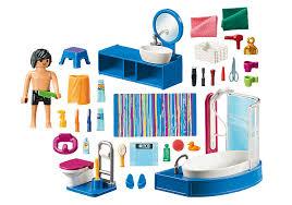 playmobil dollhouse badezimmer 70211