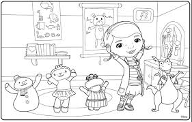 Free Printable Doc McStuffins Colouring Pages From Disney Junior