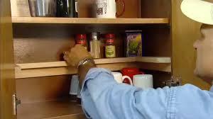 DIY Kitchen Cabinet Organizing
