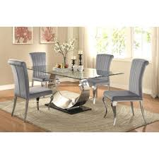 round dining room sets for small spaces modern chairs table set