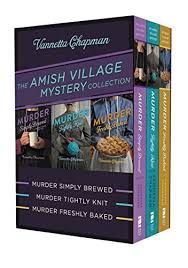 The Amish Village Mystery Collection Murder Simply Brewed Tightly Knit Freshly