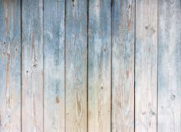 Blue Vintage Wooden Background Vinyl Wall Mural