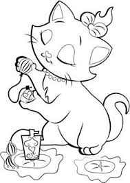 Disney Marie Cat Coloring Pages Located In CAT Category Free Printable For Kids