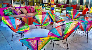 Trippy Bed Sets by A Trippy Beach Party Comes To The Roof Of Yotel In Hell U0027s Kitchen
