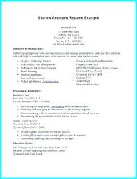 Resume For Vet Tech Veterinary Assistant Examples No