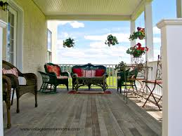 Screened In Porch Decorating Ideas And Photos by 10 Front Porch Decorating Ideas Vintage American Home